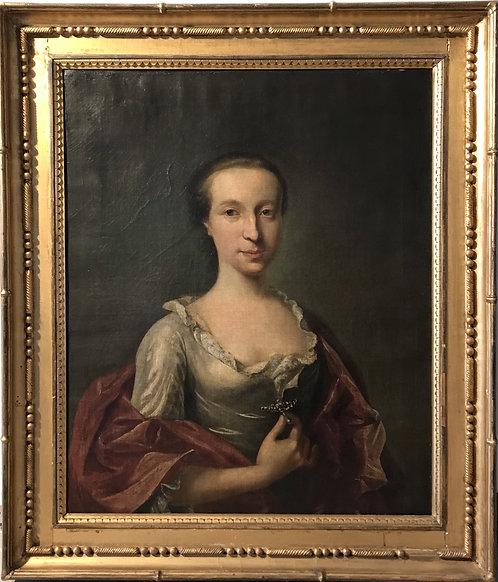 Portrait of Agnes Colquhoun, Heiress of Killermont