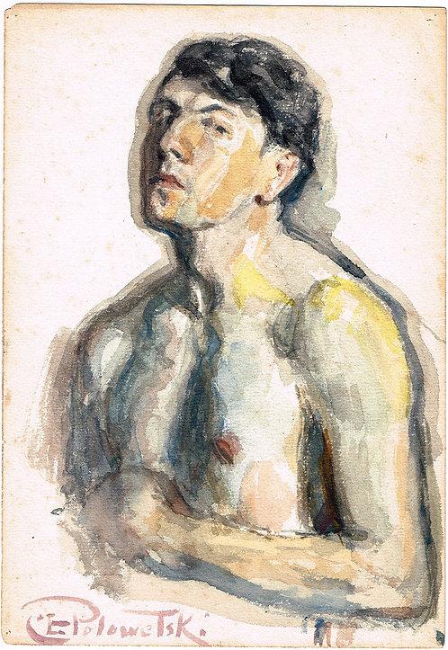 Charles Ezekiel Polowetski Self Portrait
