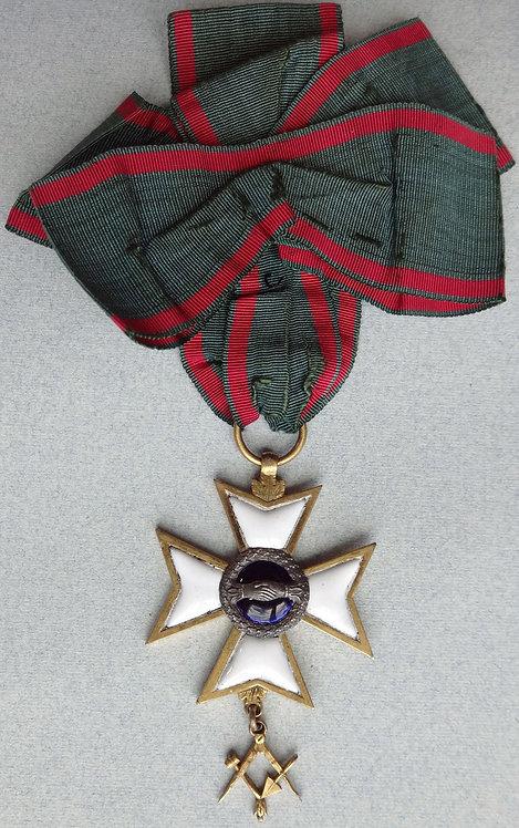 Antique Master Masonic Medal
