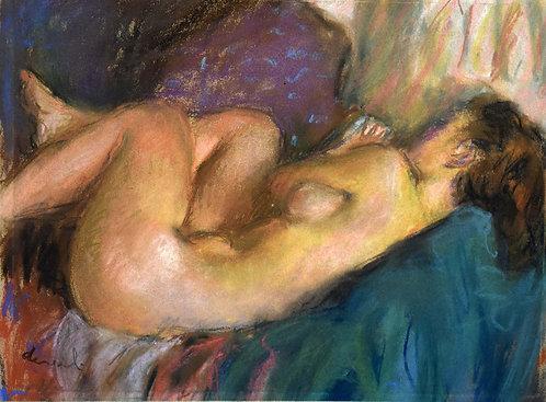 "Pierre Deval ""Sleeping model"""