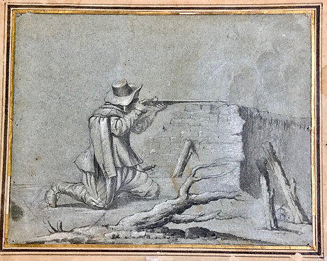 ROTERMUND Johann Lorenz, (attributed to) Soldier firing
