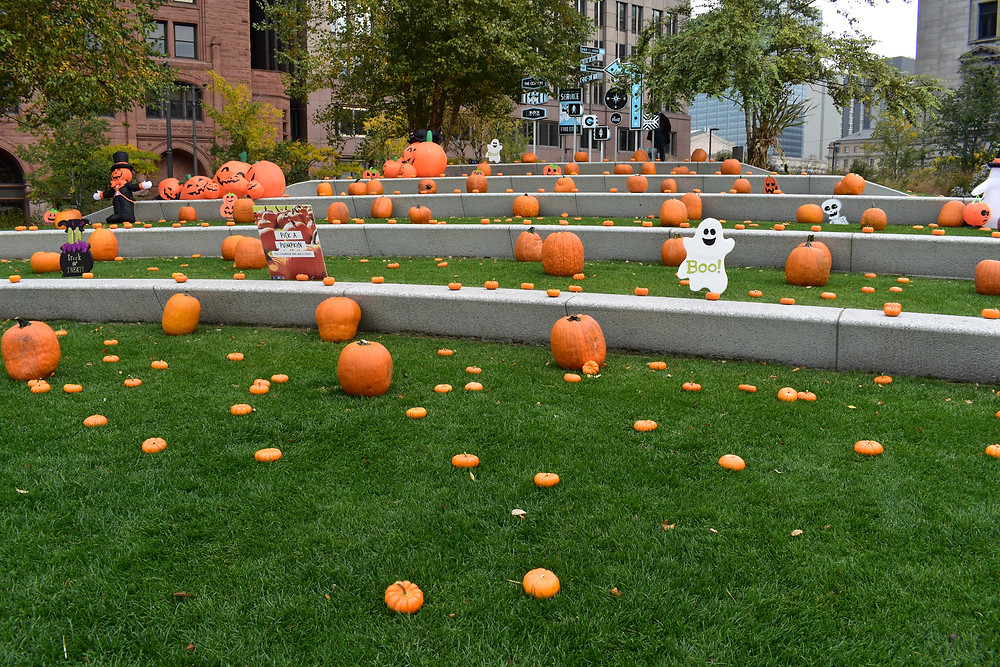 The Great Pumpkin Party in The Square