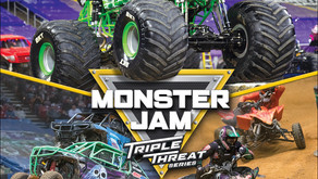 Monster Jam Triple Threat Series coming to Rocket Mortgage FieldHouse
