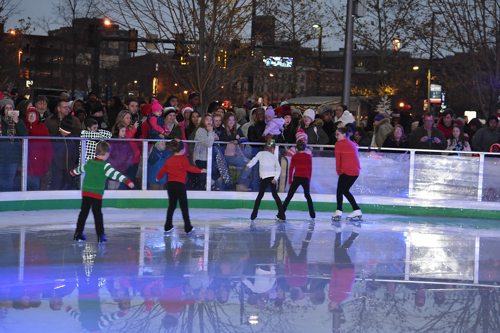 Book your next party at the Cleveland Foundation Skating Rink