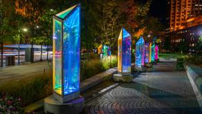 Public Square Transforms into a Giant Kaleidoscope