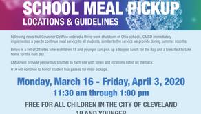 Cleveland Schools offer free meals for children