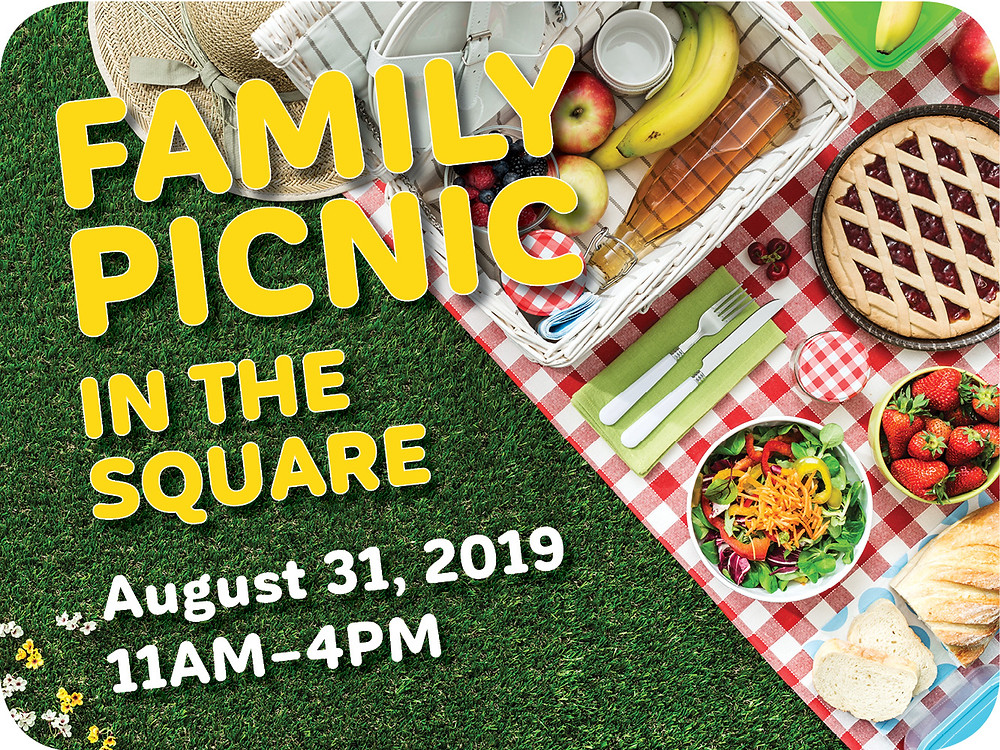 Family Picnic in The Square, August 31