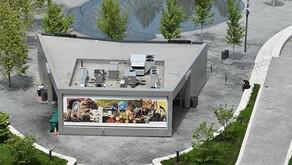 Dakarai Akil's art display in Public Square