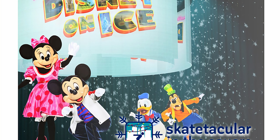 Skate with stars from Disney on Ice Road Trip Adventures