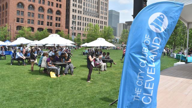 The City Club, For the Love of Cleveland forum in Public Square