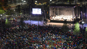 Outdoor concerts in The Square
