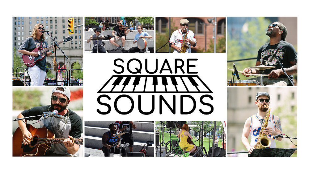 Live musicians will perform weekdays in The Square