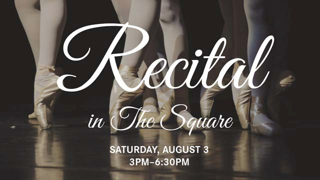 Recital in The Square, August 3