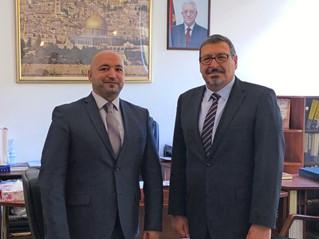 Зустріч з Послом Палестини в Україні Паном Хашемом Дажані.