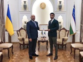 Посольство Узбекистану приймає Главу центру       Аль-Халавані Хусамеддіна.
