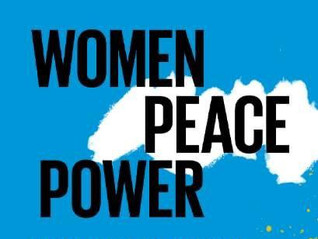 """October 31, 2020 - 20th anniversary of UN Security Council Resolution 1325 """"Women, Peace, Security"""""""