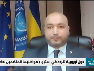 Хусамеддін Аль-Халавані взяв участь в політичній телепередачі.