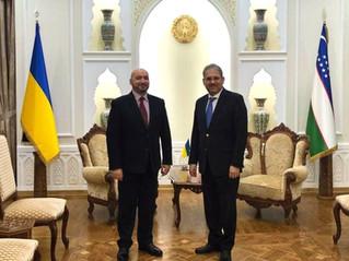 Зустріч з Послом Республіки Узбекистан в Україні.