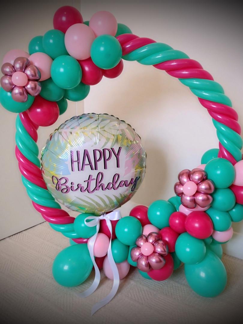 Birthday hoop