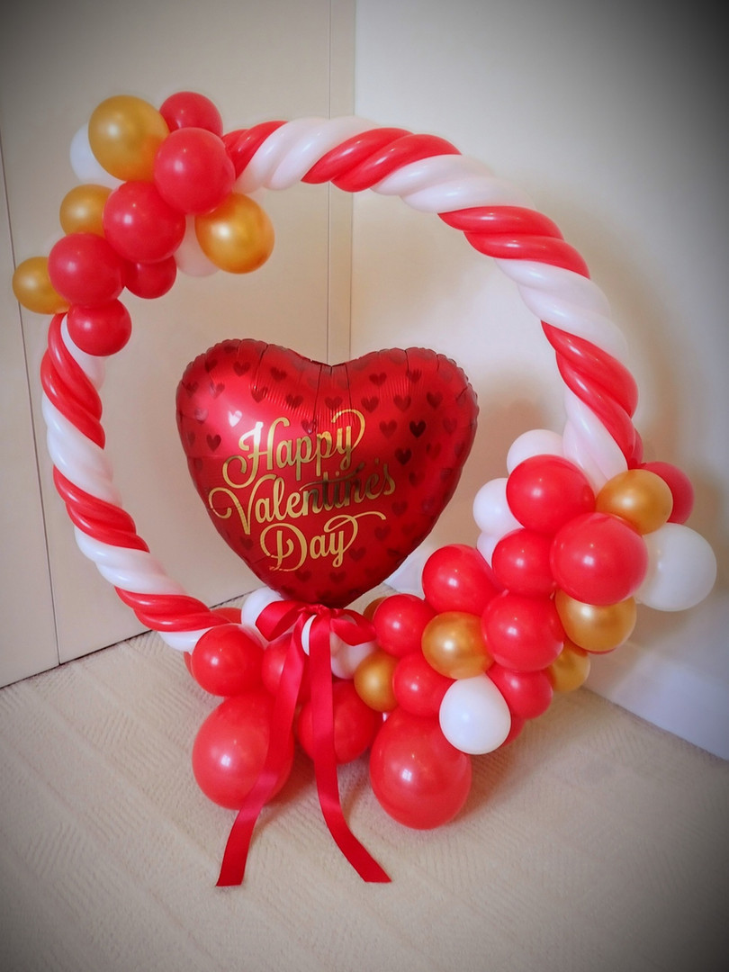 Valentine's hoop