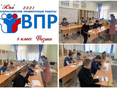 8 класс - Всероссийская проверочная работа по Физике                  (01 апреля 2021)