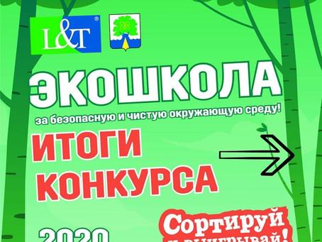 """Итоги городского конкурса """"Сортируй и выигрывай 2020"""""""