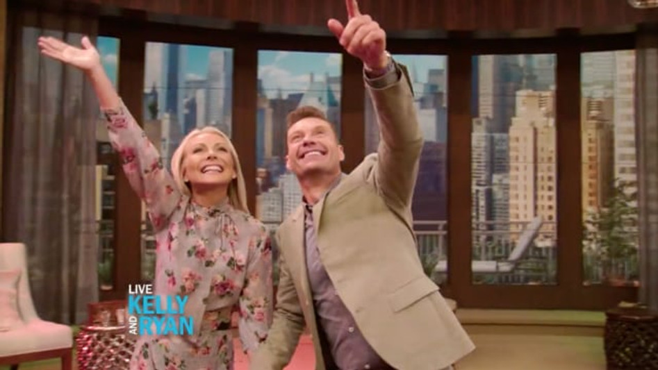 LIVE WITH KELLY AND RYAN | PROJECT XAV / WALT DISNEY TELEVISION