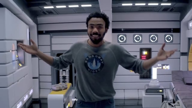 SOLO: A STAR WARS STORY -  TOUR THE MILLENNIUM FALCON WITH DONALD GLOVER