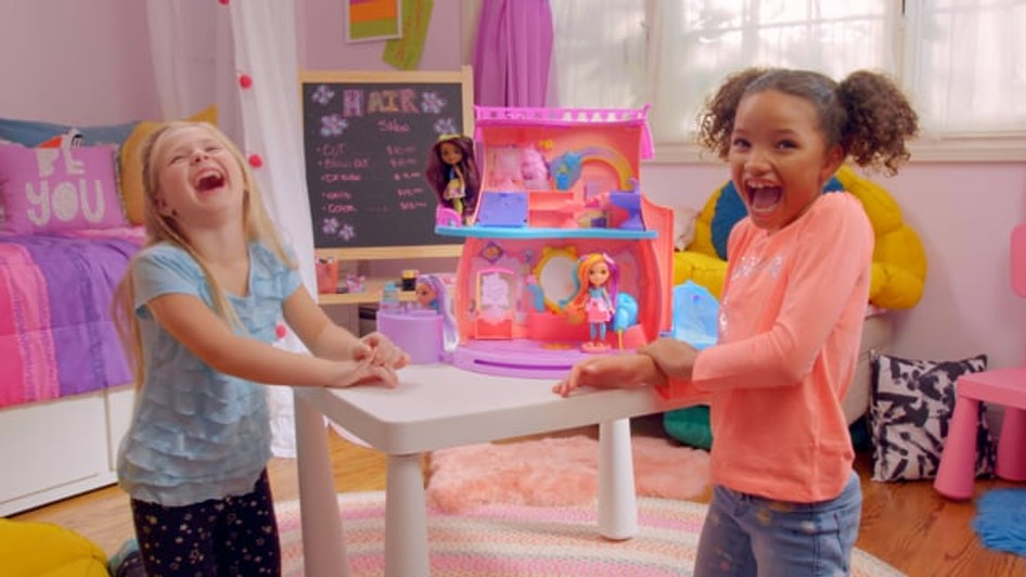 MATTEL - SUNNY DAY FAN-TASTIC SALON | NICKELODEON VELOCITY