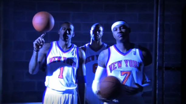 """""""YOU. US. WE. NOW.""""   NEW YORK KNICKS"""
