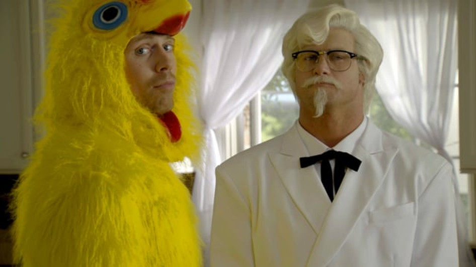 "KFC'S ""CHICKEN LITTLE SANDWICH"" 