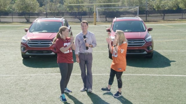 """THE FORD UNSTOPPABLE FAN """"SKILLS COMPETITION"""" 
