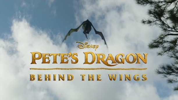 """PETE'S DRAGON - """"BEHIND THE WINGS"""" 