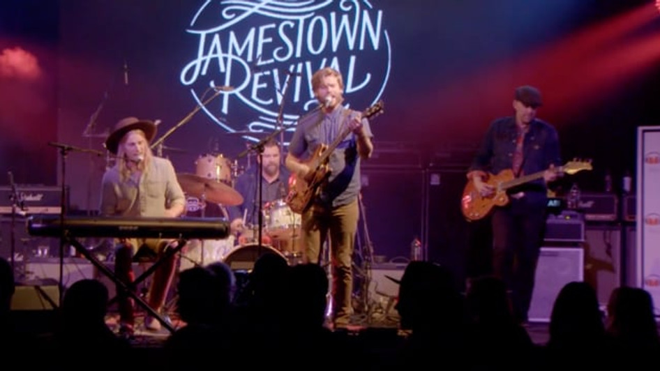 "JAMESTOWN REVIVAL ""LOVE IS A BURDEN""   CBS SPORTS"