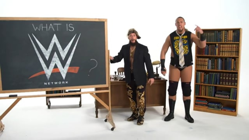 WWE NETWORK 101 - ENZO & CASS ON EVERYTHING YOU NEED TO KNOW | WWE