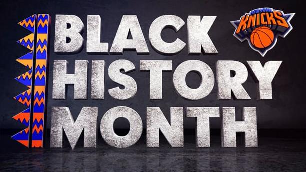 BLACK HISTORY MONTH   NEW YORK KNICKS