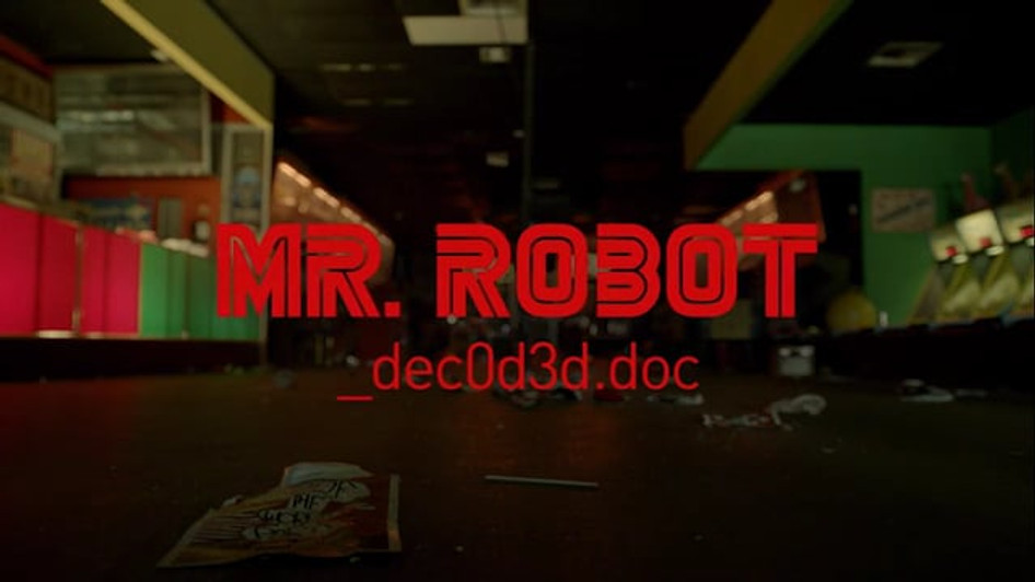 MR. ROBOT DECODED   USA NETWORK