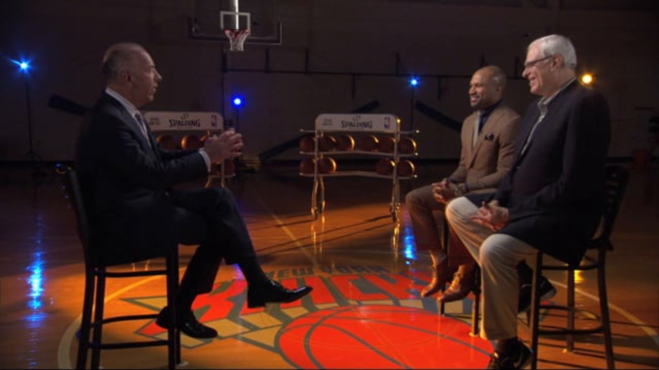 PHIL JACKSON & DEREK FISHER SPECIAL | MSG NETWORKS