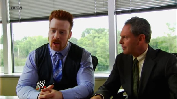 SHEAMUS ATTENDS A DEPOSITION WITH DAVID OTUNGA AND RICARDO RODRIGUEZ   WWE