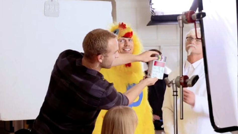 "THE MAKING OF KFC'S ""CHICKEN LITTLE SANDWICH""   WEIDEN + KENNEDY"