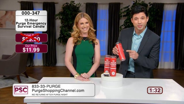 PURGE SHOPPING CHANNEL | USA NETWORK / SYFY