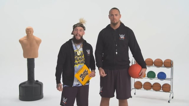 WWE NETWORK 101 - ENZO & CASS SHOW YOU HOW TO ORDER   WWE