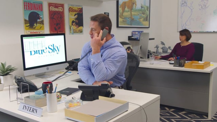 FERDFINAND - JOHN CENA, INTERN FOR A DAY | FOX / BLUE SKY STUDIOS