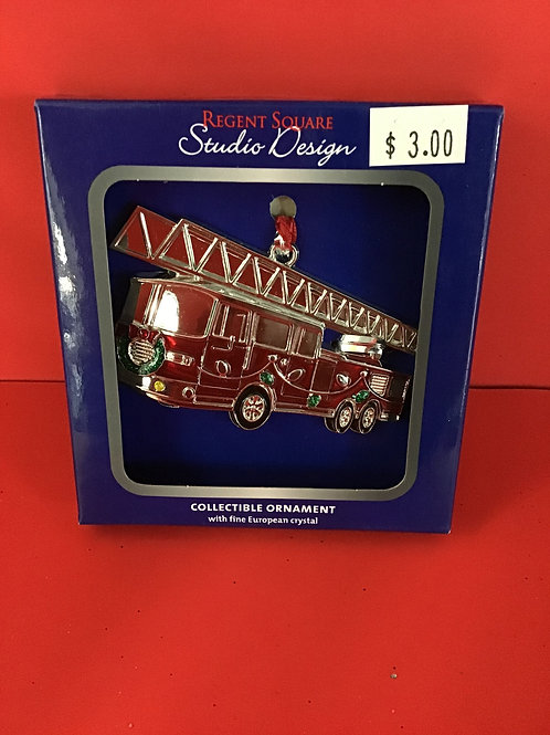 Fire Truck Collectible Ornament