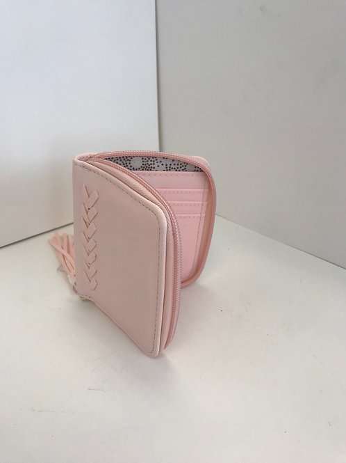 Pink Zipper Wallet