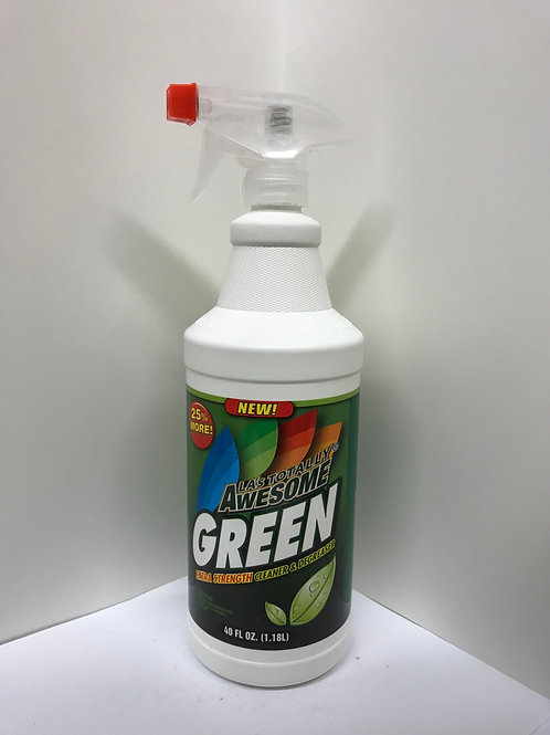 LA Totally Awesome Green Extra Strength Cleaner & Degreaser 40 FL OZ
