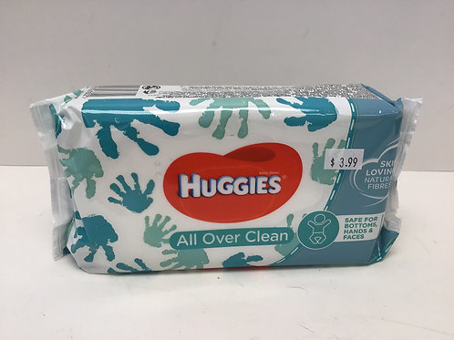 Huggies All Over Clean 56 Wipes