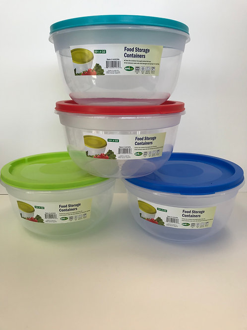 Food Storage Container Assorted Colors
