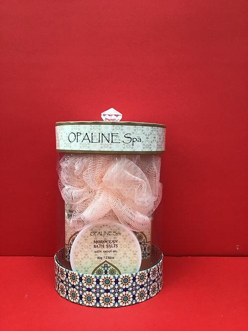 Opaline Fruits Garden Pomegranate Bath Set
