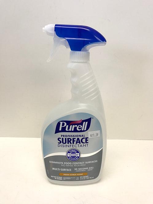 Purell Professional Surface Disinfectant Fresh Citrus 32 oz